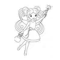 Colouring Page - Tooth Fairy
