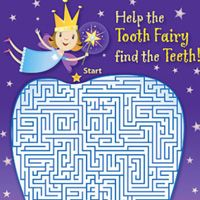 Maze - Help the Tooth Fairy find the teeth